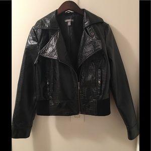 APT.9 Women's  Black Short Jacket